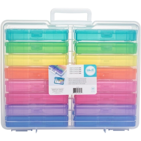 We R memory keepers - Craft & Photo Translucent Plastic Storage
