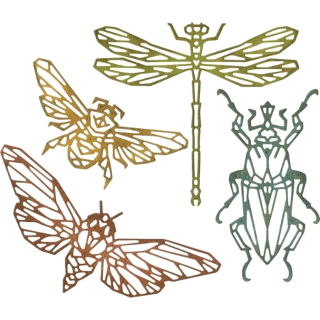 Sizzix Thinlits Tim Holtz - Geo Insects - 664180