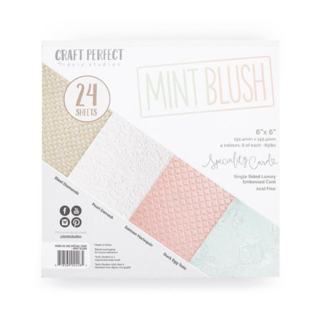 Tonic Studios - Craft Perfect - Speciality Pack Mint Blush - 9426E