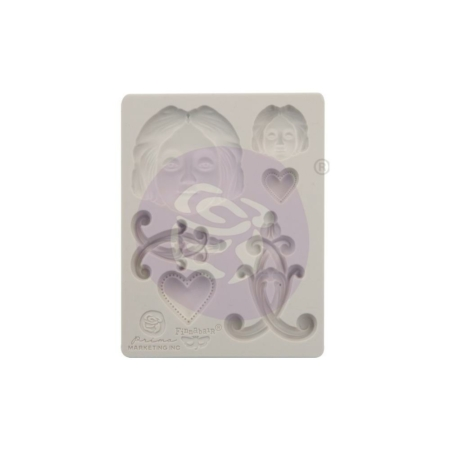 Prima - Finnabair Decor Moulds - Anabelle - 966577