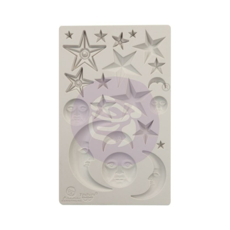 Prima - Finnabair Decor Moulds - Start & Moons - 966638