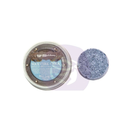 Prima - Finnabair Metallique Wax - Blue Lagoon - 966706