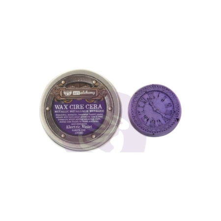 Prima - Finnabair Metallique Wax - Electric Violet - 966713