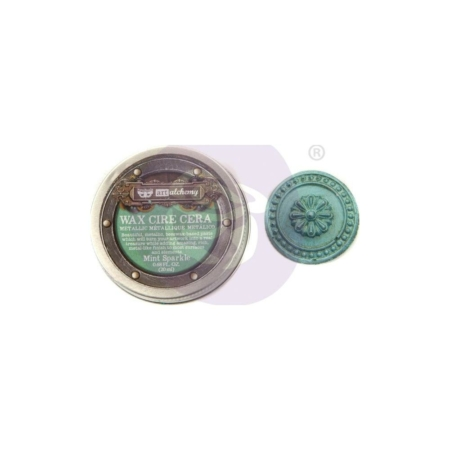 Prima - Finnabair Metallique Wax - Mint Sparkle - 966751