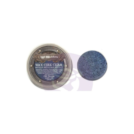 Prima - Finnabair Metallique Wax - Old Denim - 966768