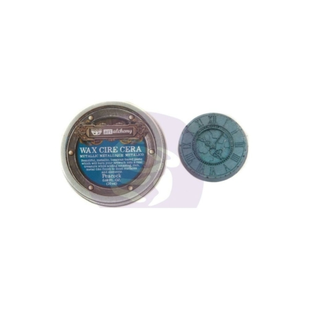 Prima - Finnabair Metallique Wax - Peacock - 966775