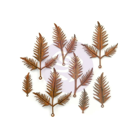 Prima Finnabair Mechanicals Metal Embellishments Woodland Fern