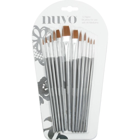 Tonic - Nuvo Paint Brushes / Penselsæt - 972N