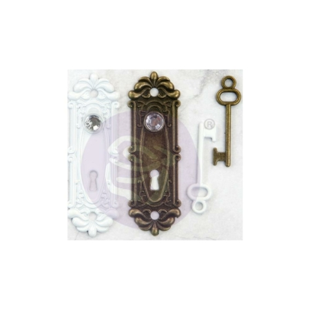 Prima Marketing - Embellishments Antique Metalware Avigno