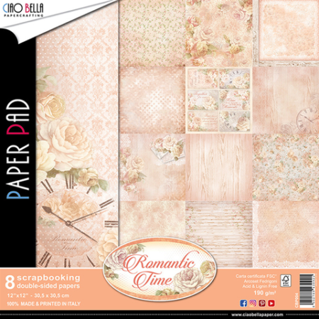 CIAO BELLA Paper - Romantic Time - CBP004