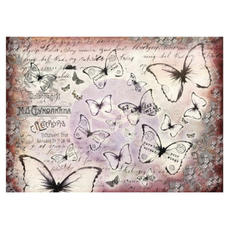Prima - Finnabair Mixed Media Tissue Paper - Flutter