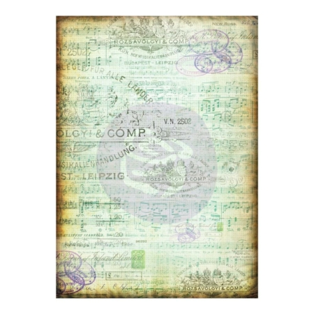 Prima - Finnabair Mixed Media Tissue Paper - Musica