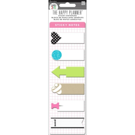 Happy Planner Create 365 Sticky Notespads - POSM-03