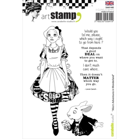 Carabelle Studio Cling Stamp - Alice In Wonderland