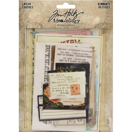 Tim Holtz Idea-Ology - Layers Remnants - TH93956