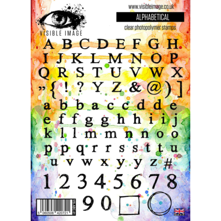 VISIBLE IMAGE STAMP - Alphabetical - VIS-ABC-01