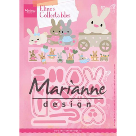 Marianne Design - Eline's Baby Bunny - COL1463