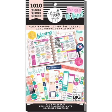 Happy Planner Sticker Value Pack - Faith Warrior - PPSV-82
