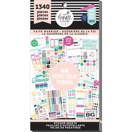 Happy Planner Sticker Value Pack - Mini Faith Warrior - PPSV-83