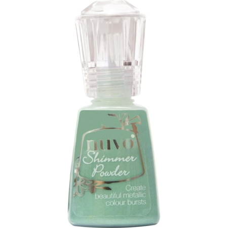Nuvo Shimmer Powder - Green Parade - 1214N