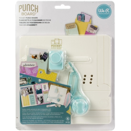 We R Memory Keepers - Journal Pocket Punch Board - 660484