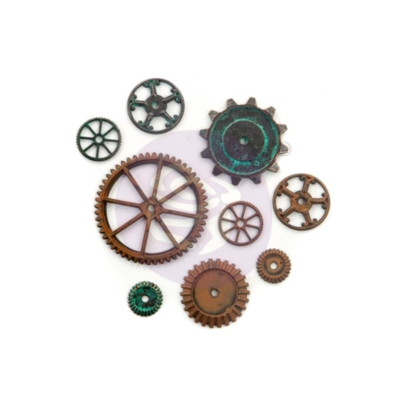 Prima Finnabair Mechanicals Metal Embellishments Machine Parts