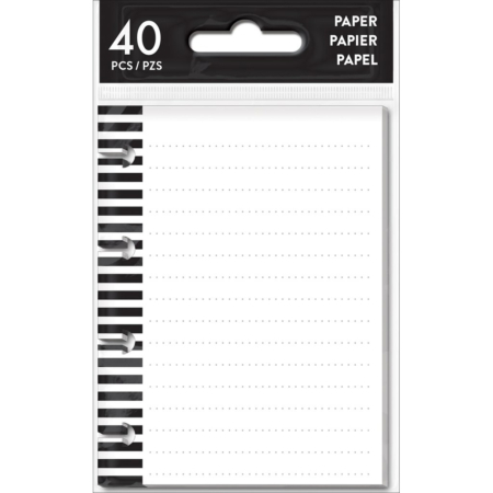 Happy Planner Create 365 Fill Paper Tiny Note Paper Lined - FILT-01