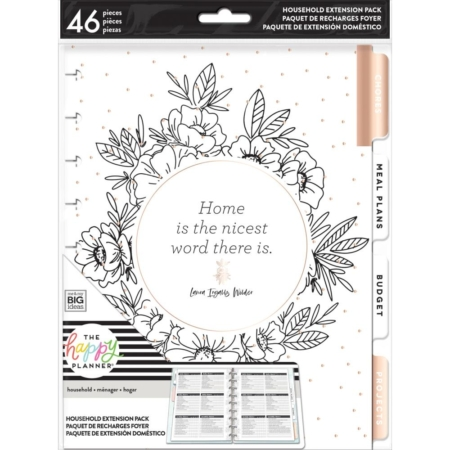 Happy Planner Create 365 - Classic Extension Pack - Home - HOM-03