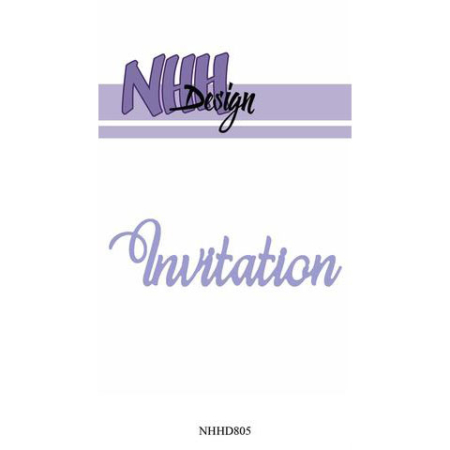 NHH Design Dies - Invitation - NHHD805