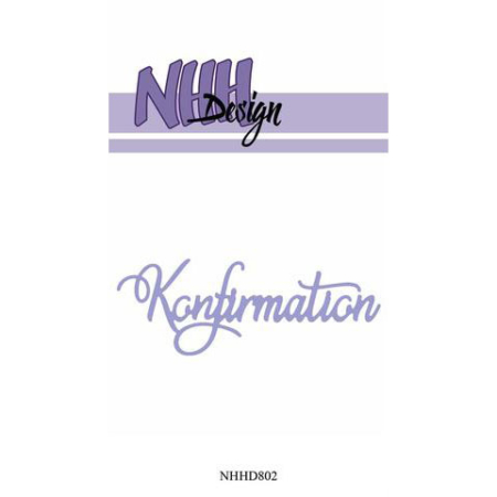 NHH Design Dies - Konfirmation - NHHD802