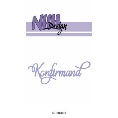 NHH Design Dies - Konfirmand - NHHD803