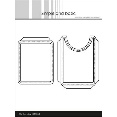Simple and basic Dies - Pocket and Flap Add-on - SBD044