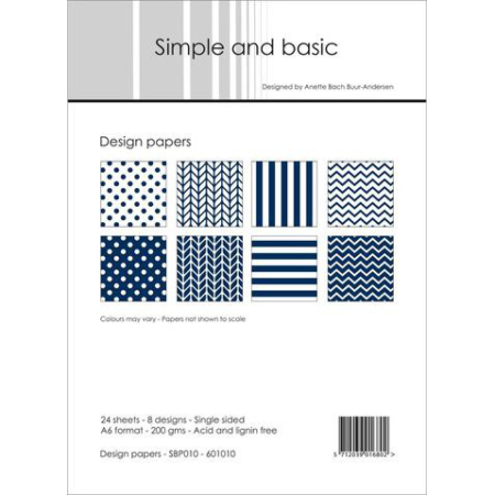 Simple and basic - Design papers - A6 - SBP010