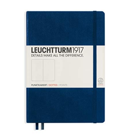 Leuchtturm1917 hardcover dotted A5 Medium Navy Blue - 342925