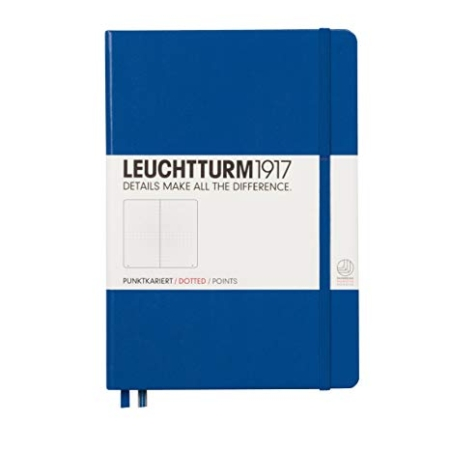 Leuchtturm1917 hardcover dotted A5 Medium Royal Blue - 344747