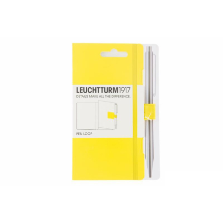 Leuchtturm1917 Pen Loop penneholder - Lemon