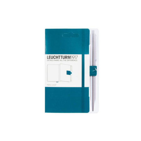 Leuchtturm1917 Pen Loop penneholder - Pacific Green