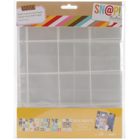 Simple Stories Snap - Insta-pockets Variety Pack - 4074