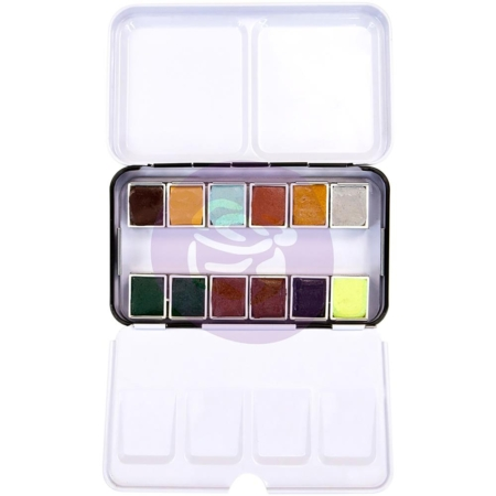 Prima Marketing Art Philosophy Confections Watercolor Pans Essence