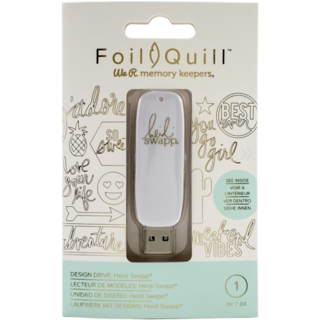 We R Memory Keepers Foil Quill USB Artwork Drive - Heidi Swapp