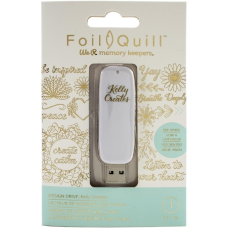 We R Memory Keepers Foil Quill USB Artwork Drive - Kelly Creates