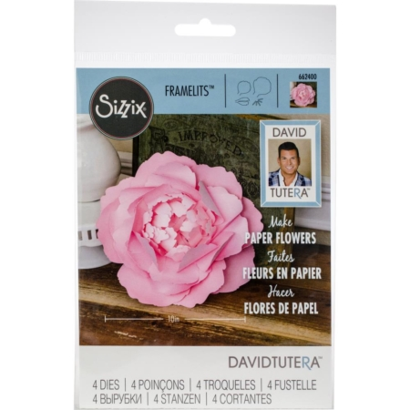 Sizzix Thinlits - Dies By David Tutera Large Peony - 662400