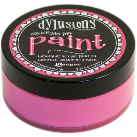 Ranger Ink - Dylusions Blendable Acrylic Paint - Bubblegum Pink