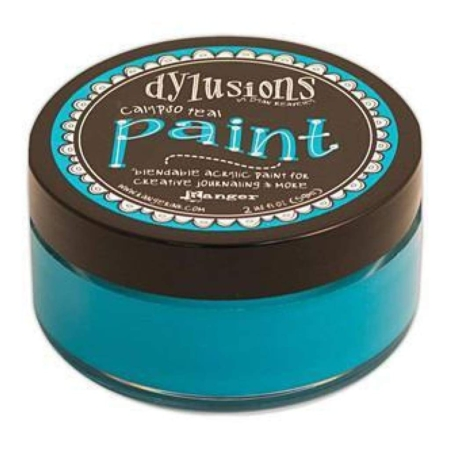 Ranger Ink - Dylusions Blendable Acrylic Paint - Calypso Teal