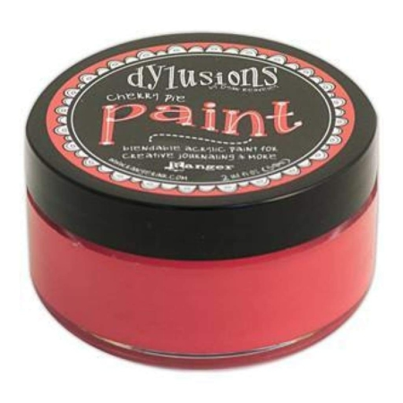 Ranger Ink - Dylusions Blendable Acrylic Paint - Cherry Pie