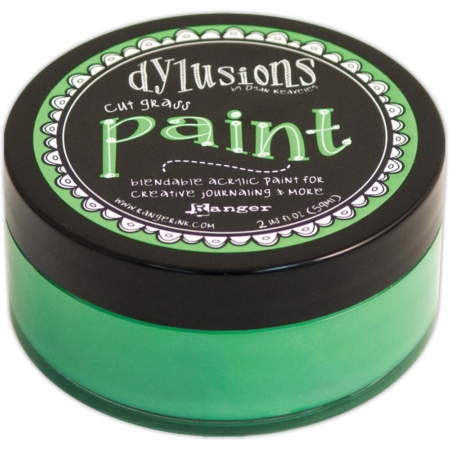 Ranger Ink - Dylusions Blendable Acrylic Paint - Cut Grass