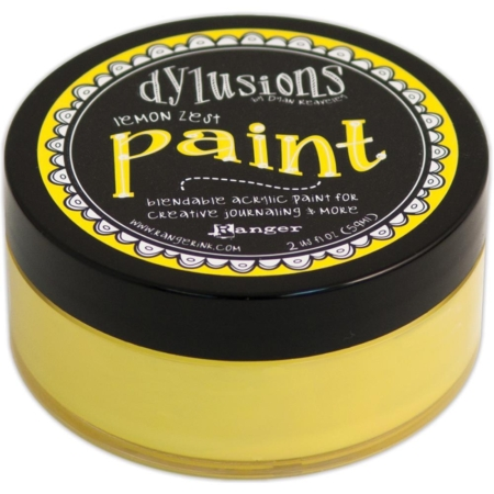 Ranger Ink - Dylusions Blendable Acrylic Paint - Lemon Zest