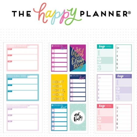 Happy Planner Medium Flip Stickers - Productivity - PFLIP-05