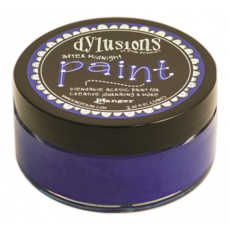 Ranger Ink - Dylusions Blendable Acrylic Paint - After Midnight