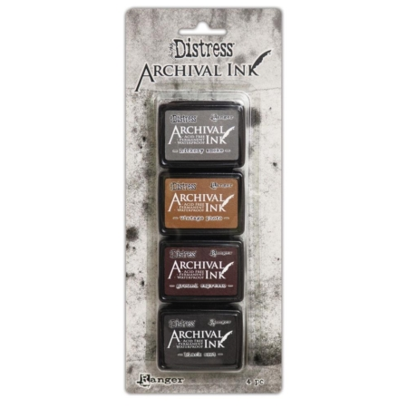 RANGER Tim Holtz Distress Archival Mini Ink Pad Kit 3 - AITK64848